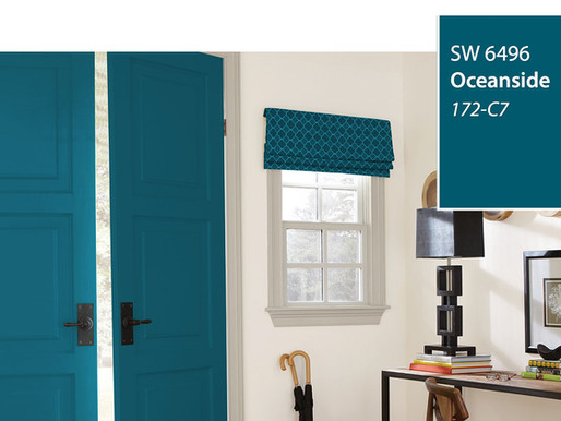 SHERWIN WILLIAMS 2018 COLOR OF THE YEAR - OCEANSIDE
