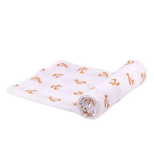Fox Swaddle Blanket