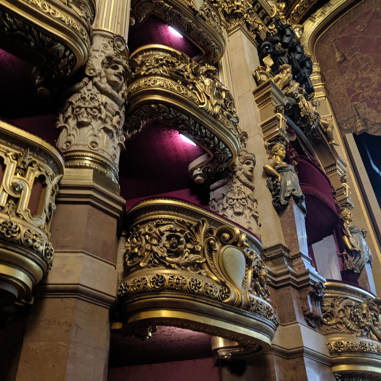 Opera Boxes at the Palais Garnier Paris Opera House Phantom of the Opera