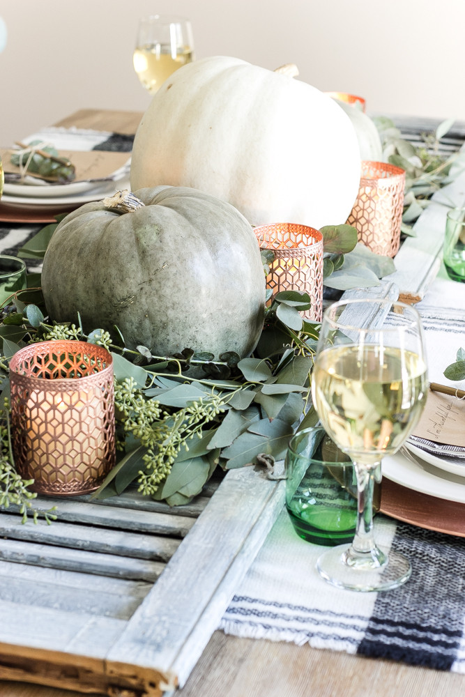 Fall Tablescape by Blesser House