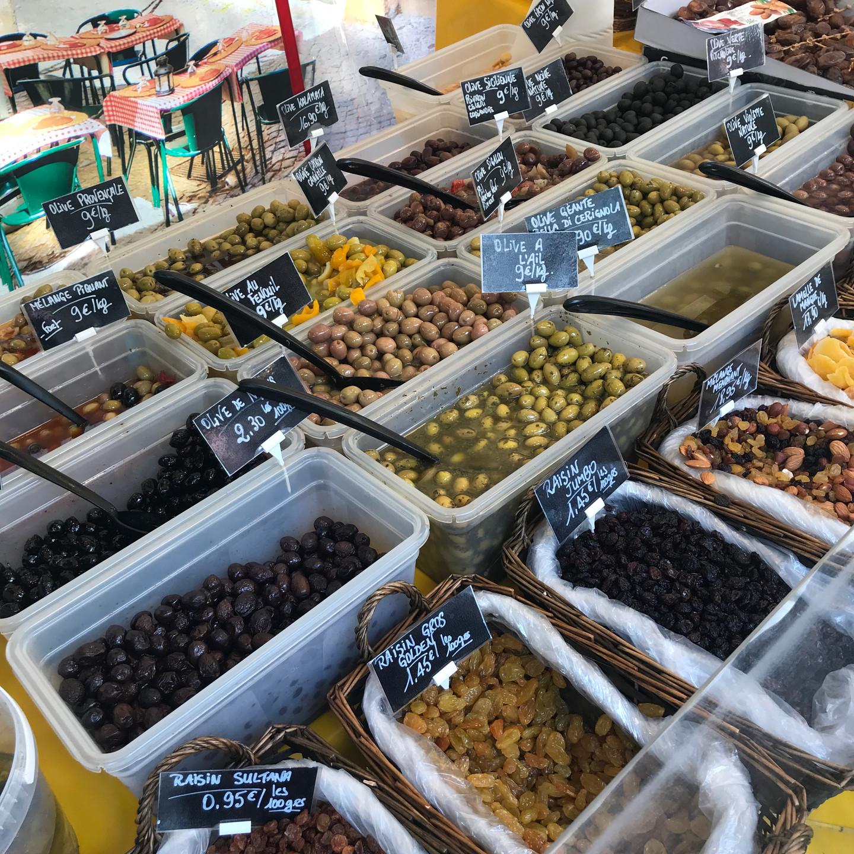Paris Street Market Olive Stand