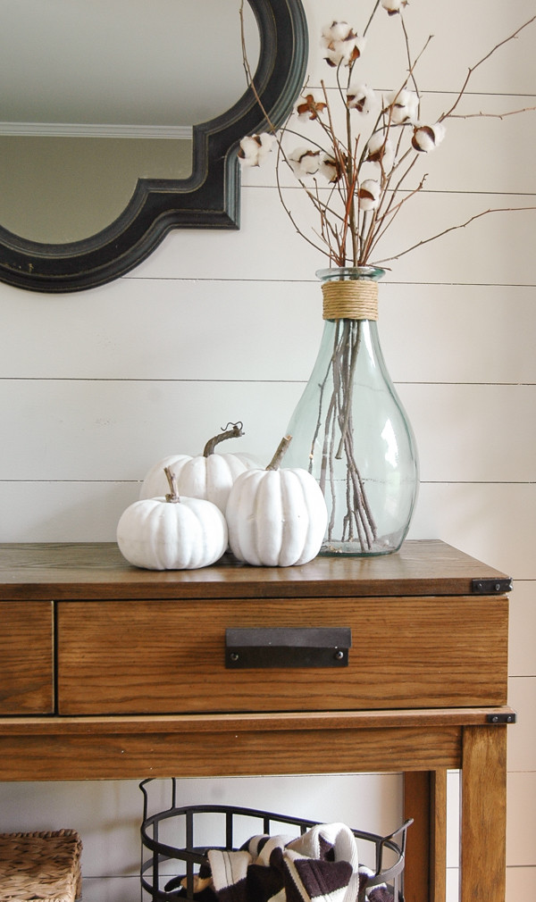 fall entry decorations