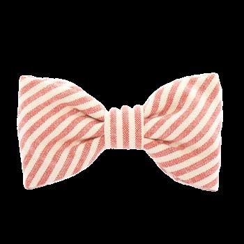 Striped Doggy Bow Tie