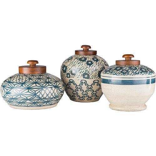 Turquoise Terracotta Jar