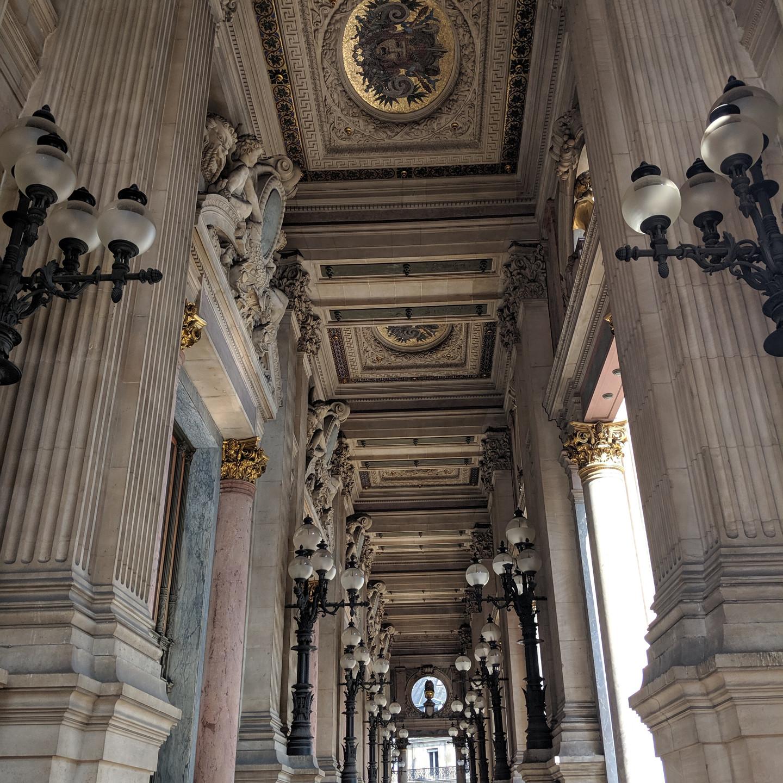 Exterior of Palais Garnier Paris Opera House
