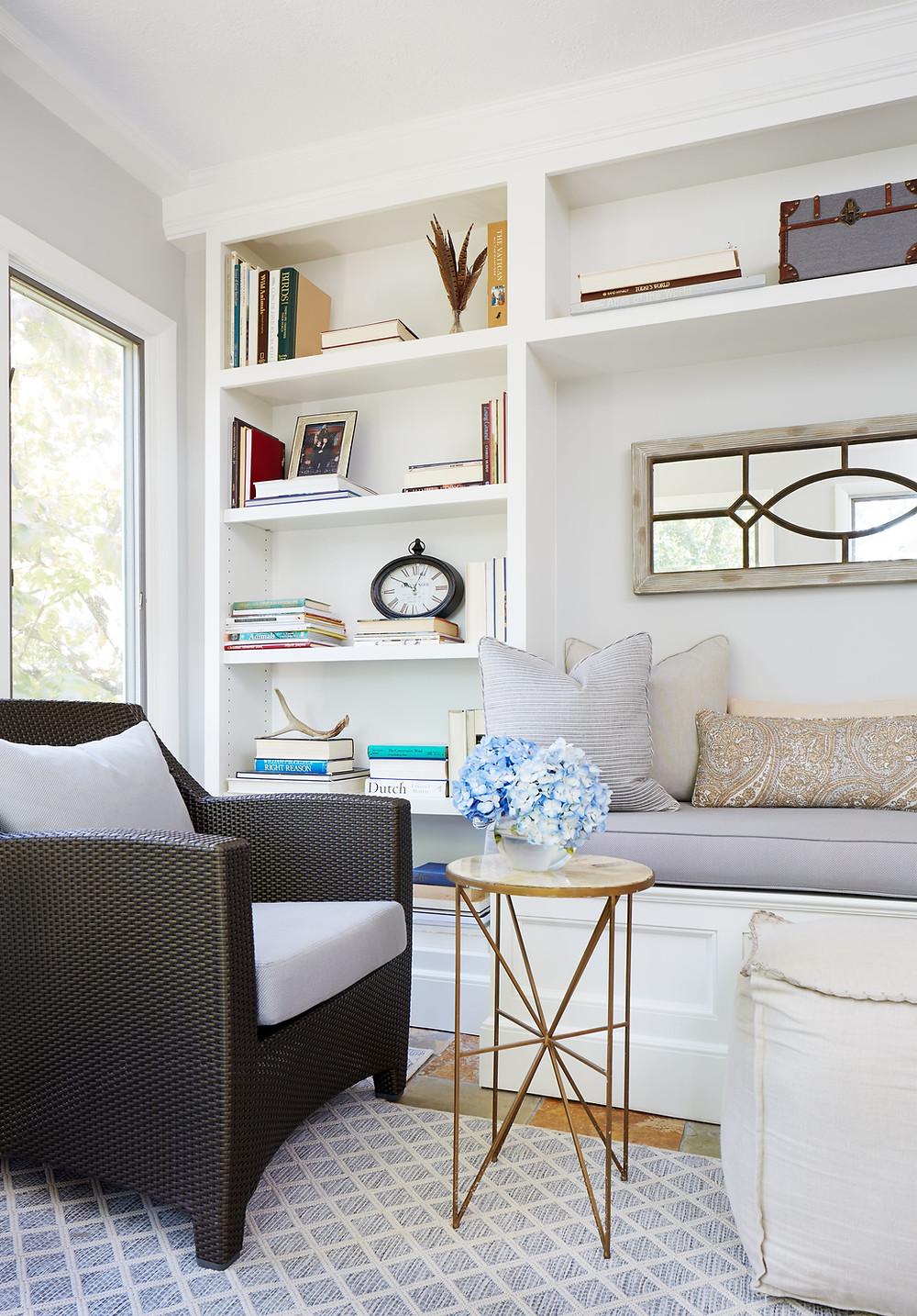 Sunroom by Laura Fox Interior Design