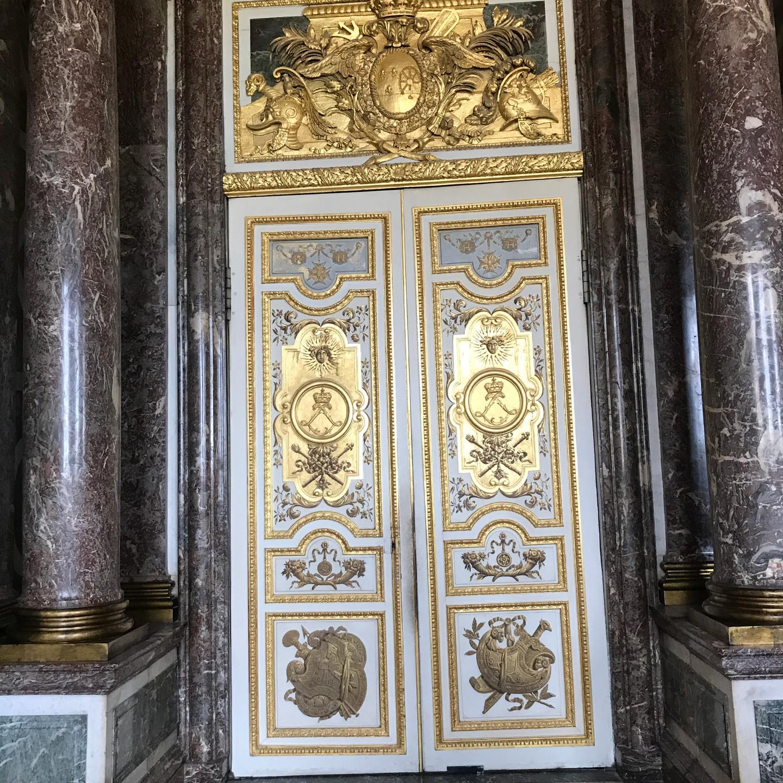 Gilded Doors in Versailles