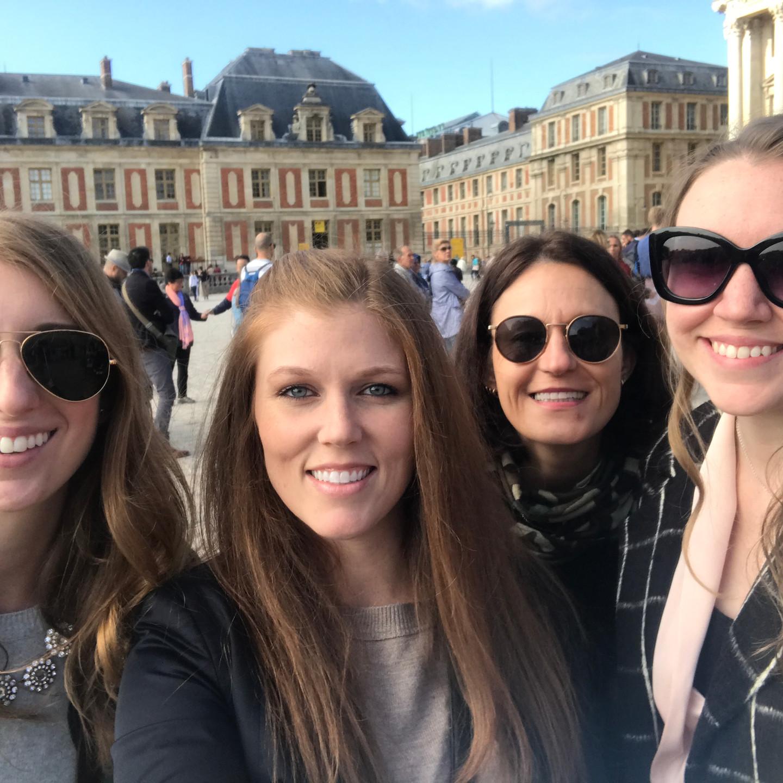 Laura Fox Interior Design Team at Versailles