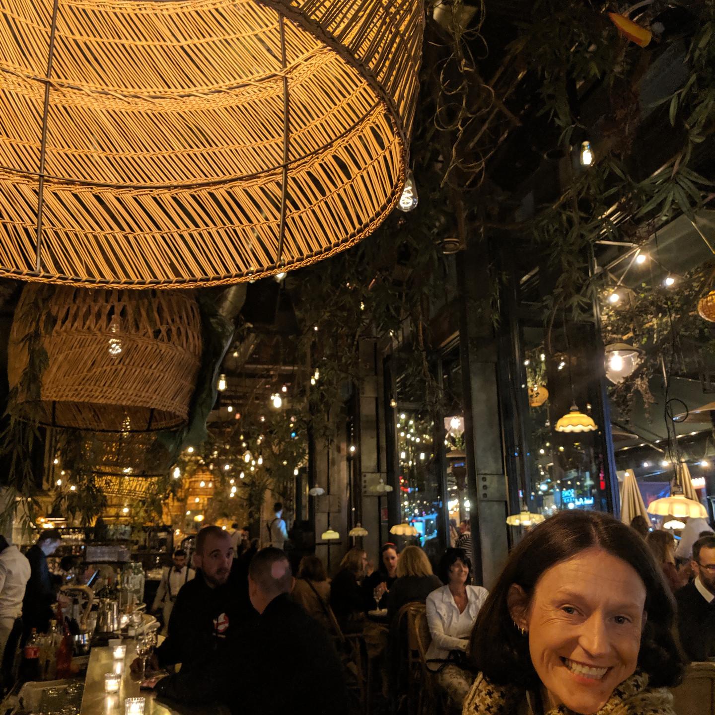 Illia Schwarz at Cafe Le Brebant Paris