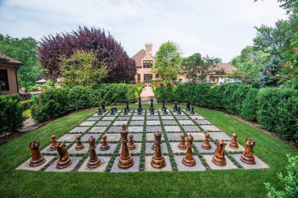 Backyard Chess by Chapel Valley Landscape Company