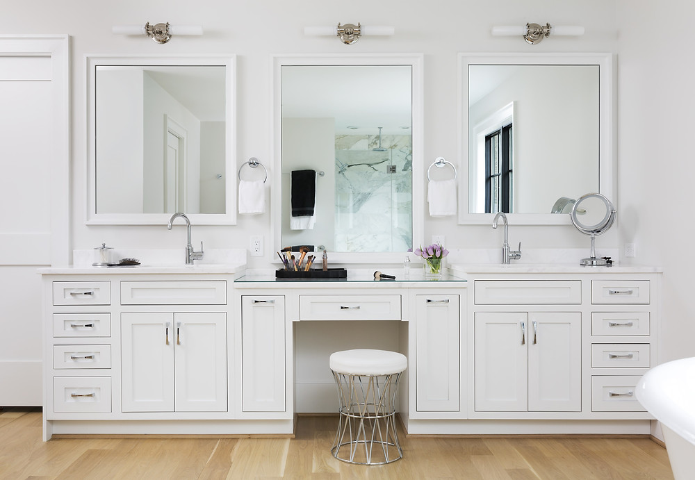 Salon-Inspired Bathroom Vanity