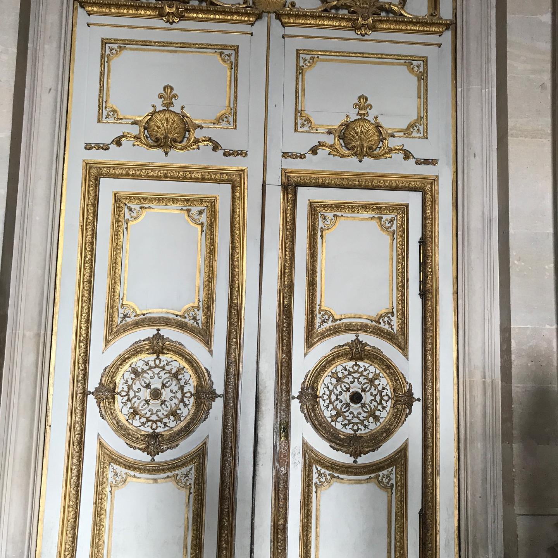 Gilded Doors at Versailles
