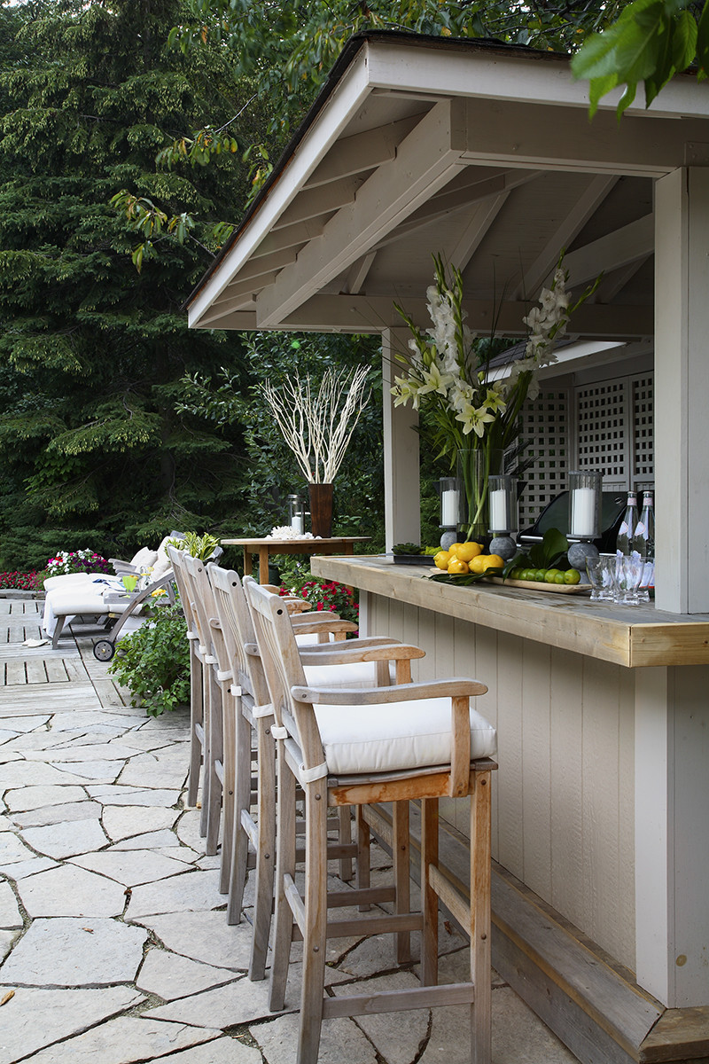 Outdoor Bar by Jackie Glass