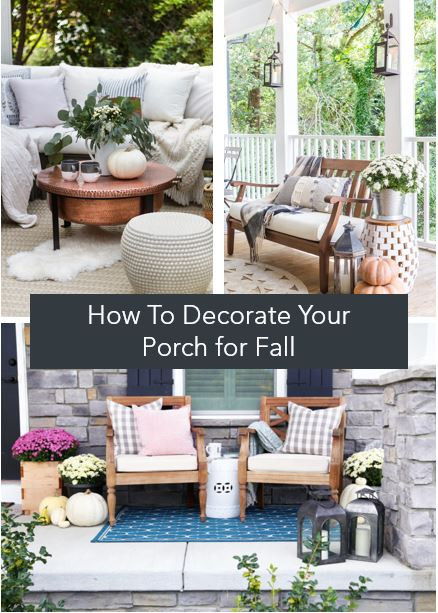 outdoor fall decorations