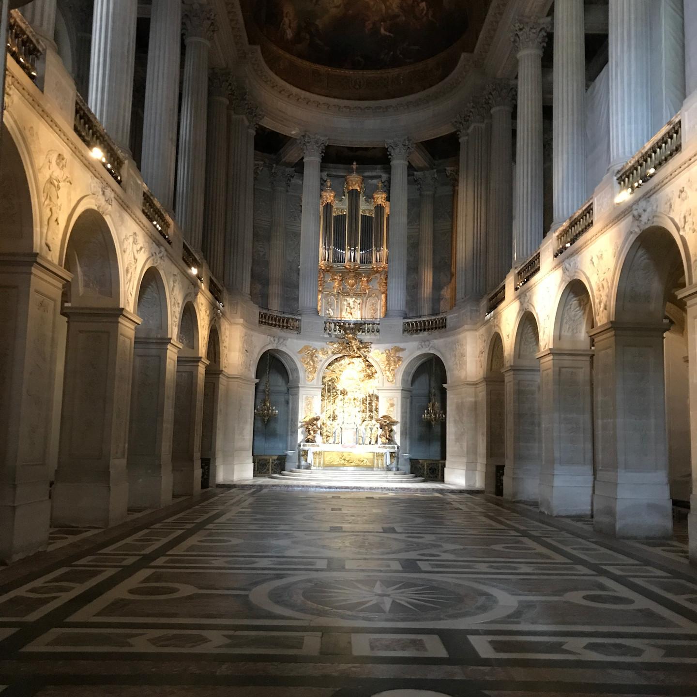 Chapel at Versailles