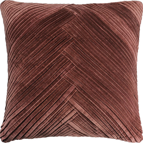 Velvet Pleated Pillow