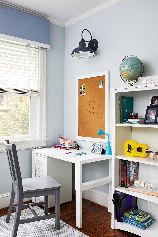 Laura Fox Interior Design Kid's Study Space