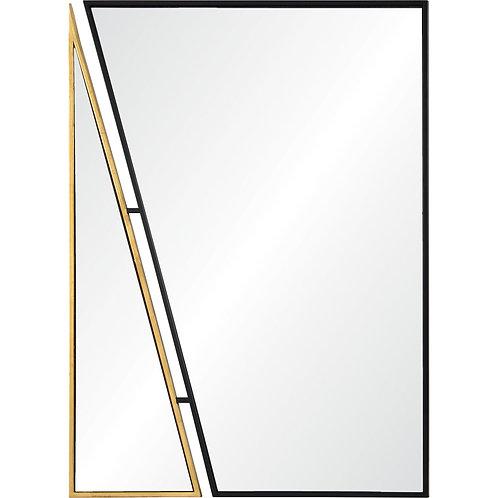 Black & Gold Wall Mirror