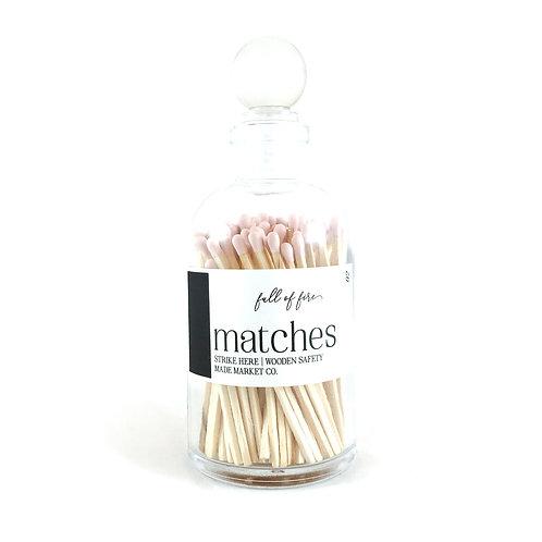Matches in Decorative Jar