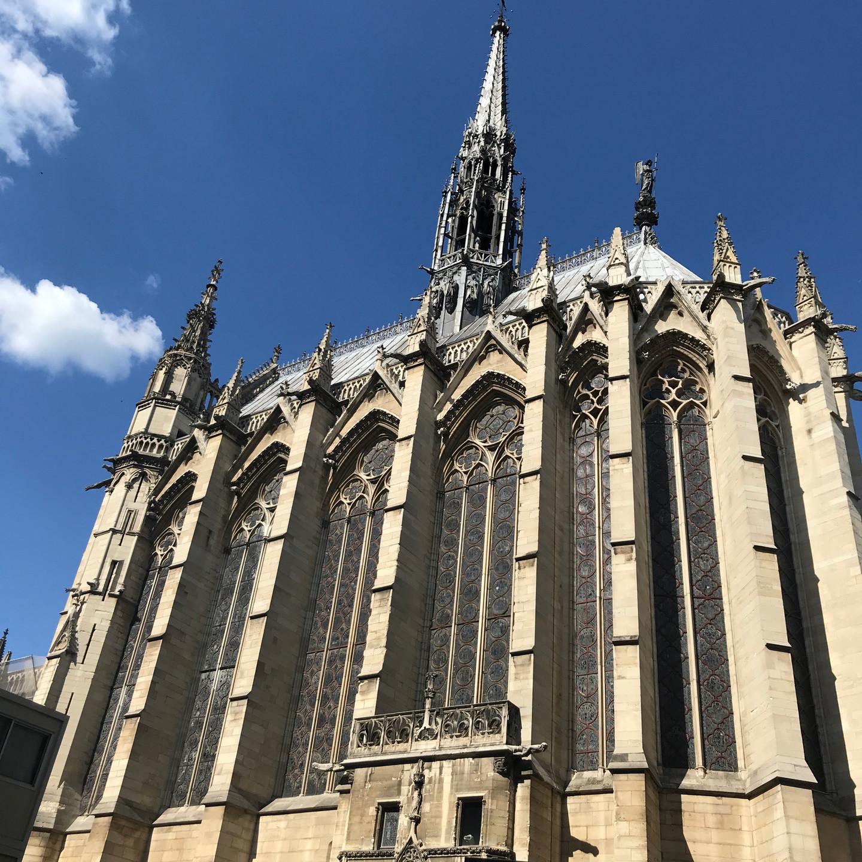 Exterior Sainte Chapelle Paris