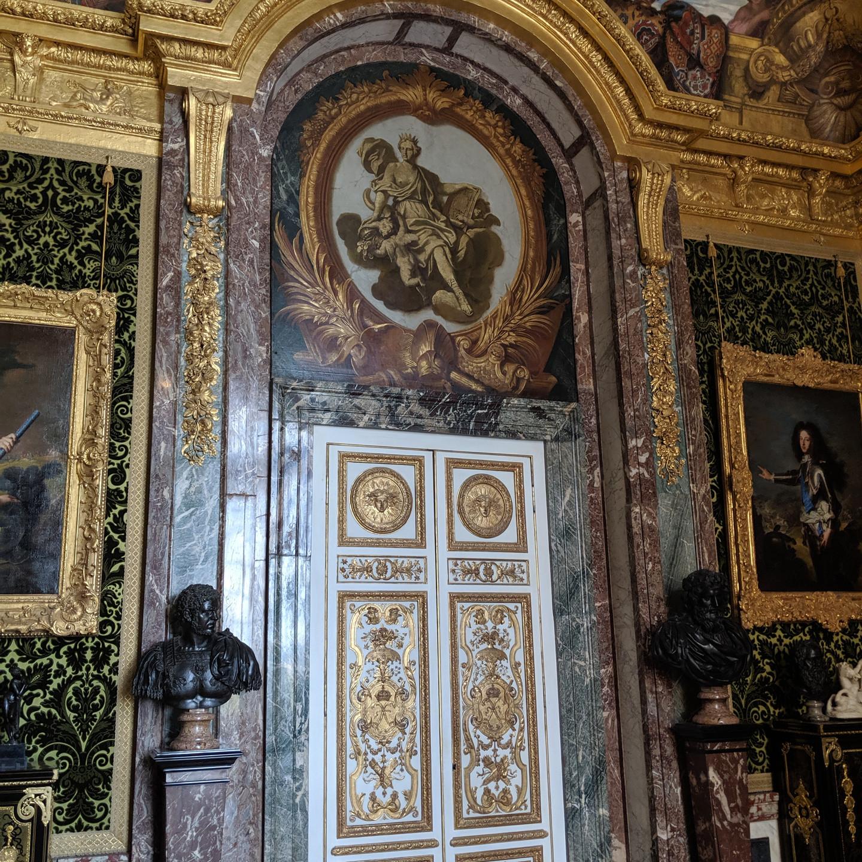 Doors in Versailles