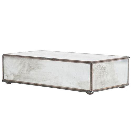 Mirrored Glass Box