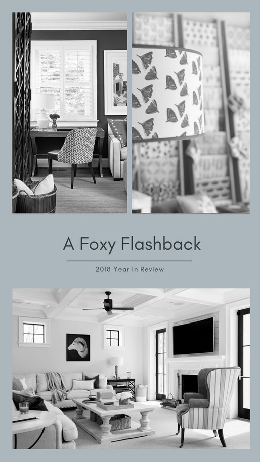 A FOXY FLASHBACK - 2018 YEAR IN REVIEW