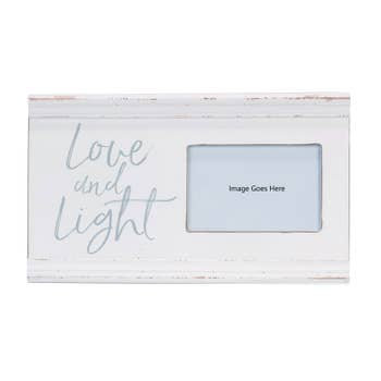 Love and Light Picture Frame