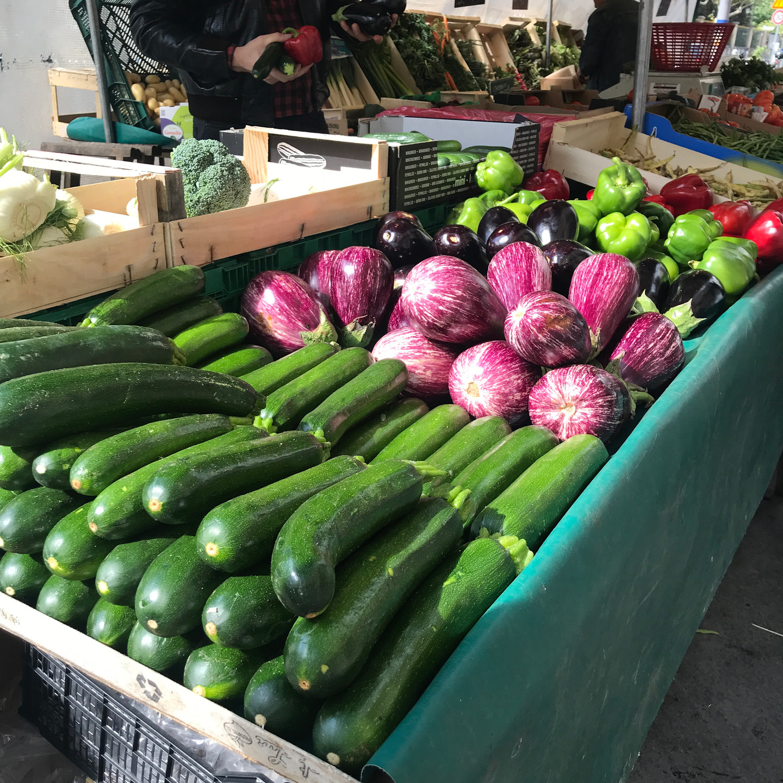 Paris Market Vegetable Stand