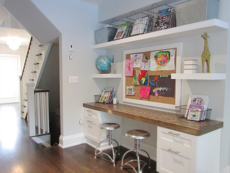 Kid's Study Space by Hannotte Interiors