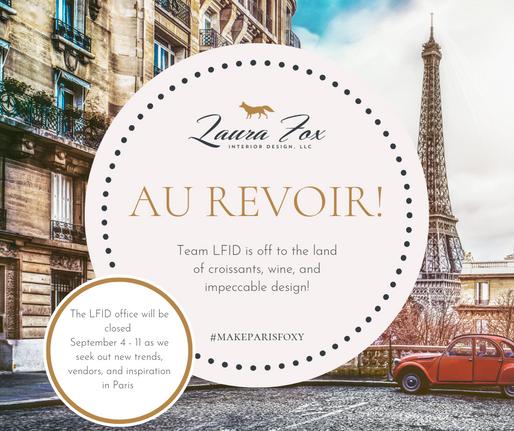 LFID IS MAKING PARIS FOXY!
