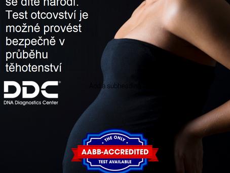 Přemýšlíte o testu otcovství v těhotenství?