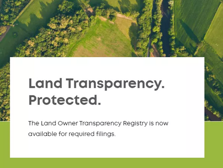 How BC's new Land Owner Transparency Act could affect you.