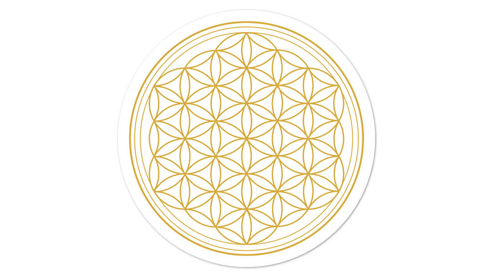 Flower of Life Bubble-free stickers