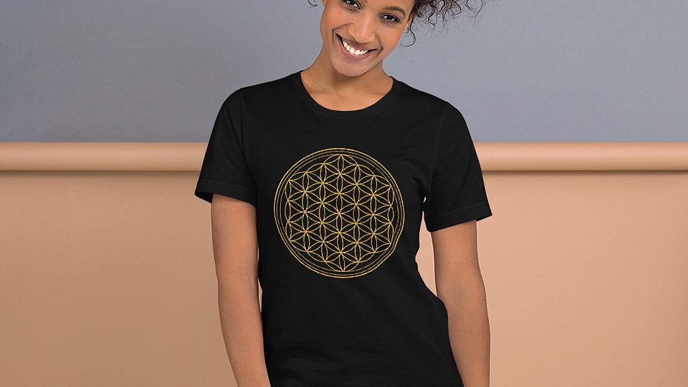 Flower of Life Unisex Recycled T-Shirt