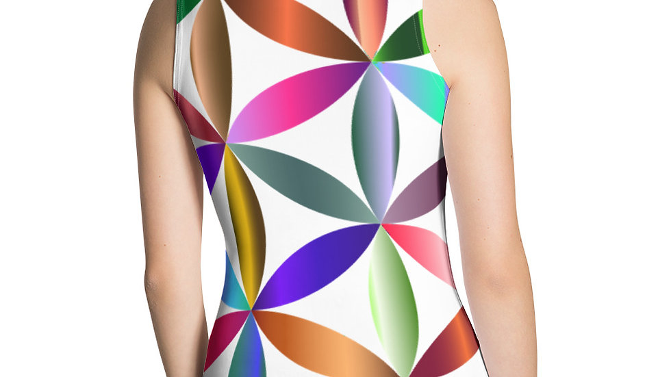 Multi Color Flower of Life Tank Top