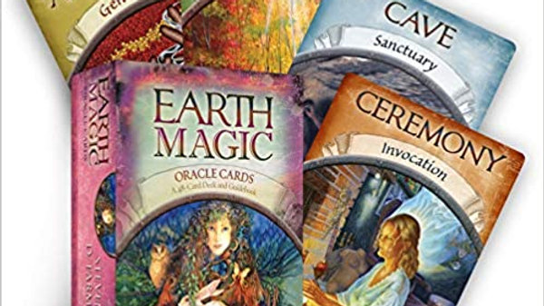 Earth Magic Oracle Cards by Steven D Farmer