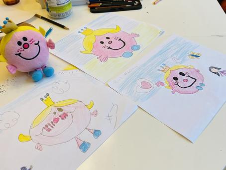 子育てを楽しむ〜お絵描き大会〜