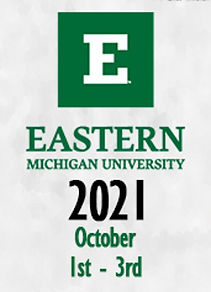 Eastern Michigan University 2021 October 1st-3rd