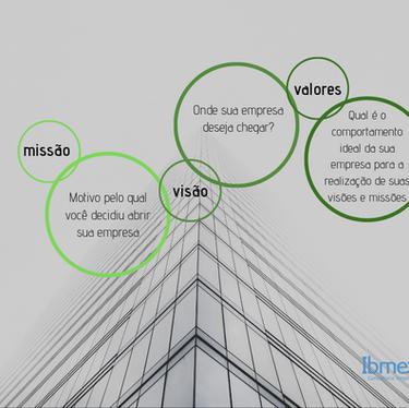 Definição de negócio: Missão, Visão e Valores