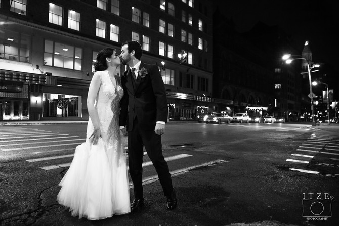 Married: Emily & James