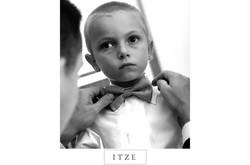 CT wedding photo ring bearer bow tie