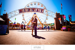 CT engagement photo at the Big E