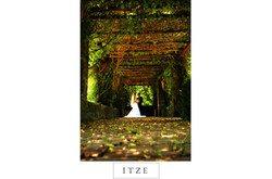 CT wedding photo Saint Clements Castle outdoors outside in arbor