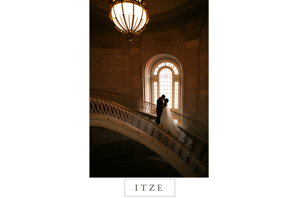 CT wedding photo Hartford City Hall