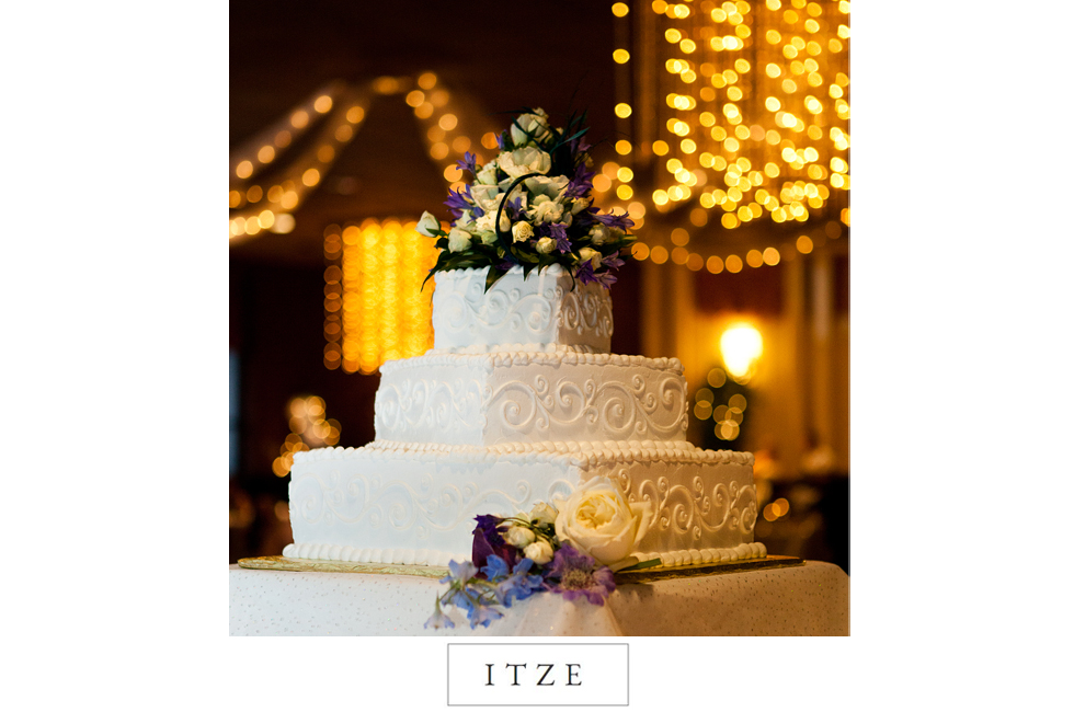 CT wedding photo cake Chez Josef