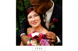 CT wedding photo Norwich Inn and Spa of bride and groom with flowers