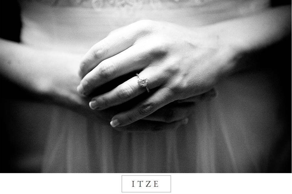 CT wedding photo engagement ring