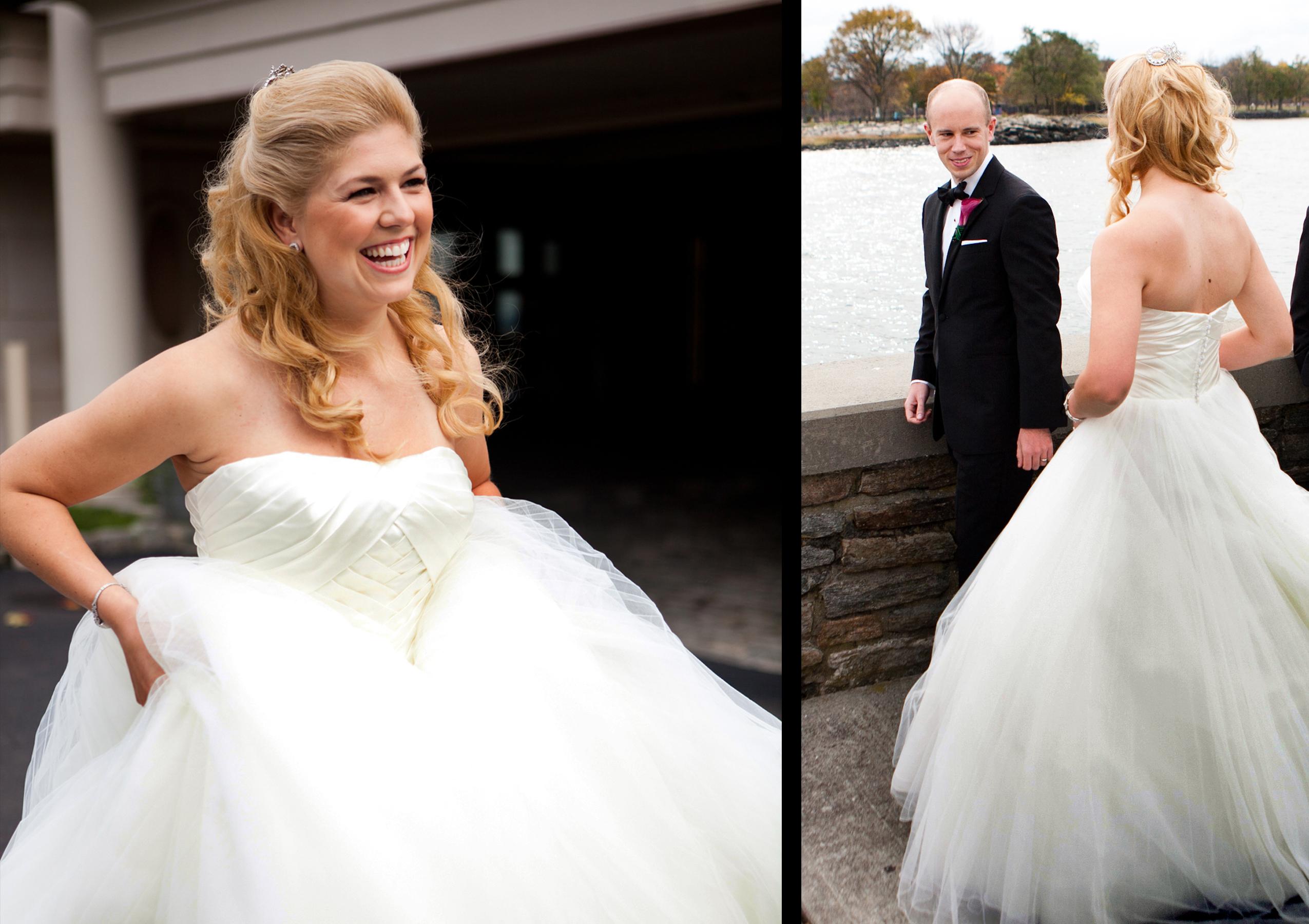 CT Wedding Photographer Album Design Flush Mount Glen Island Harbour Club New York fall wedding