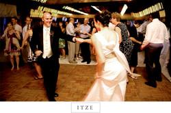 CT wedding photo bride and groom dancing at reception